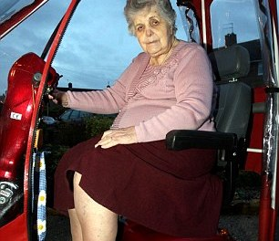 Grandmother, 86, mauled by a FERRET that leapt onto her mobility scooter and sunk its teeth into her leg