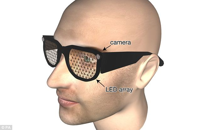 Smart spectacles to help the blind see