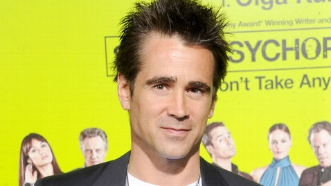 Colin Farrell Opens Up About Son's Disabilities