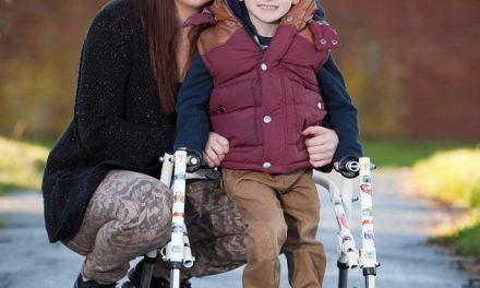 Football-mad boy, 4, denied surgery to help him walk, despite just living seven miles from specialist hospital that could treat him