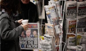 Just 16% of people with learning disabilities are interested in politics, largely because of the inaccessible way it is presented, research shows. Photograph: Joel Ryan/AP