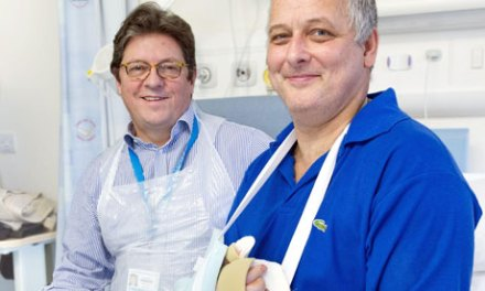 UK's first hand transplant goes ahead after donor found on Boxing Day