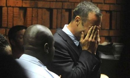 Oscar Pistorius denies murder of Reeva Steenkamp in 'strongest terms'