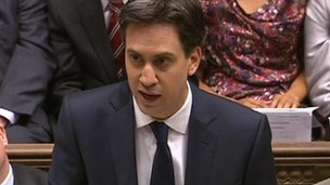PMQs: Cameron and Miliband clash over 'bedroom tax'