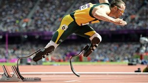 Oscar Pistorius: Olympics and Paralympics star at court