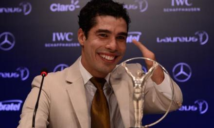 Dias wins second Laureus World Sports Award