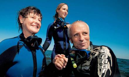 Deaf-blind Heather defies the odds in scuba dive