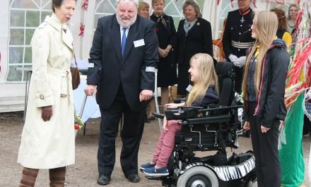 HRH Princess Anne Meets Inspirational 12 Year Old Sailor