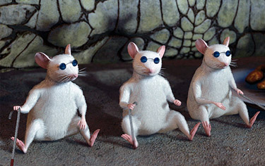 Three 'blind' mice lose disability benefits in welfare crackdown