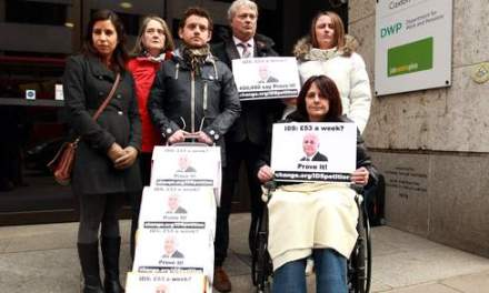 We're 'strivers not scroungers', say disability campaigners