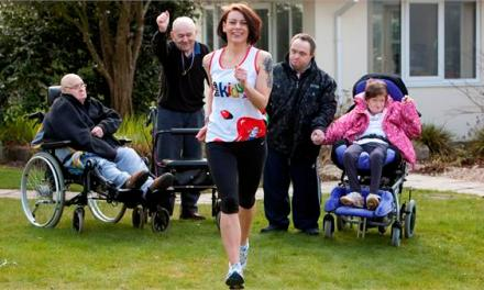 Swallowcourt spur Lucy on for marathon success