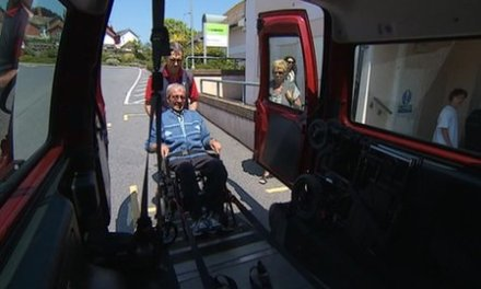 Wheelchair patients charged £40 for transport to Torbay