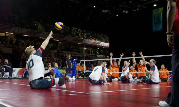 Packed crowds cheer GB to victory on first ever National Paralympic Day