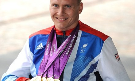 Anger of paralympic hero forced to drag himself upstairs to the loo after being refused a home with a downstairs toilet
