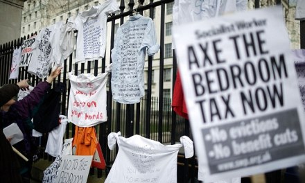 One in 10 come off benefits after losing spare room subsidy thanks to 'bedroom tax'