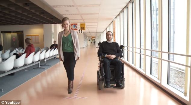 Wheelchair you can steer by ear: Chair uses pulses from muscular movements in spinal injury patients to propel it forward