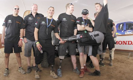 Injured Servicemen take on the Dakar Rally