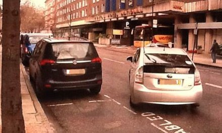 Balls blunders again: Ed left red-faced after his driver is caught parking Toyota Prius in disabled bay