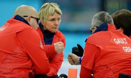 GB wheelchair curlers reach last four