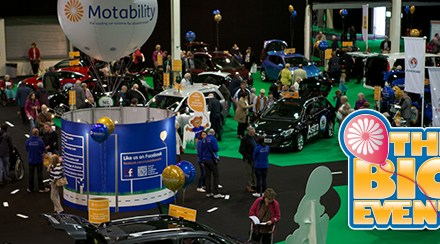 Meet Motability at The Big Event in Manchester