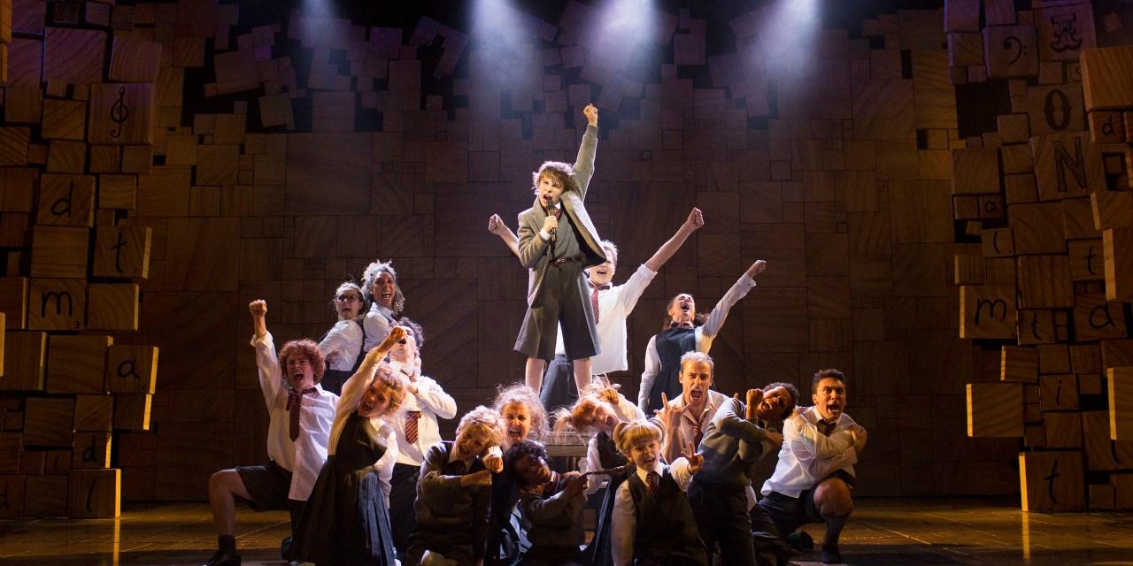The Royal Shakespeare Company presents a 'relaxed performance' of Matilda the Musical