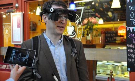 Smart glasses for the blind