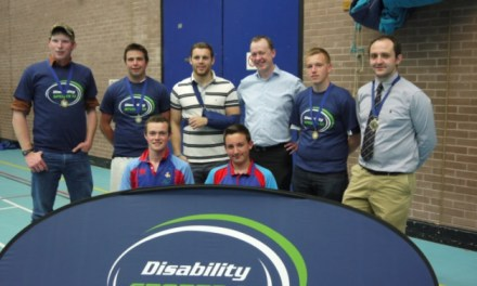 Disability sports challenge final