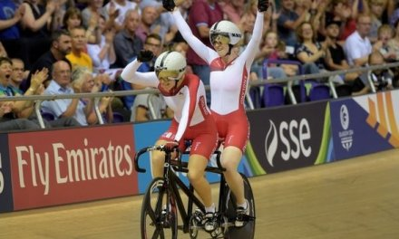 England's Thornhill and Scott win tandem gold
