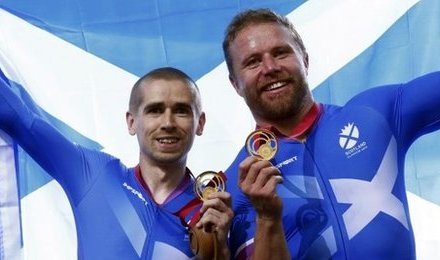 Fachie and Maclean land cycling gold for Scotland