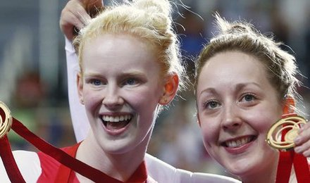 Thornhill and Scott win second gold for England