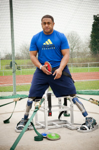 Remap made Derek Derenalagi a throwing stand which he used in the Paralympics 2012