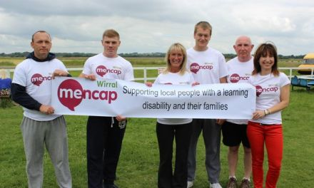 Six take leap of faith for Wirral Mencap