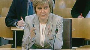 Deputy First Minister Nicola Sturgeon  Nicola Sturgeon gave evidence to Holyrood's welfare reform committee