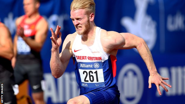 IPC European Championships: Jonnie Peacock wins gold