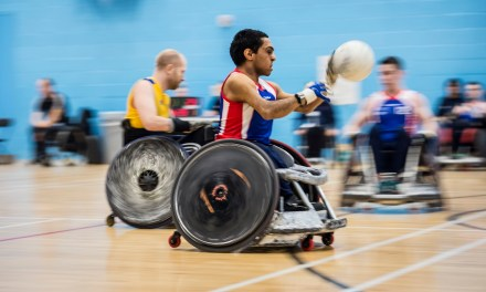 Great Britain Wheelchair Rugby Squad victorious in second world championship match