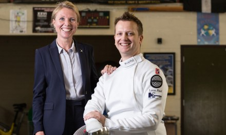 K2 Funding sponsors Paralympic fencing hopeful Matthew Campbell-Hill