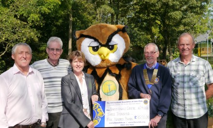 Wirral Lions pave the way for new sensory garden trail at Barnstondale