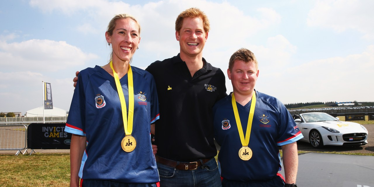 Australia Awarded First Gold Medals Of The Invictus Games