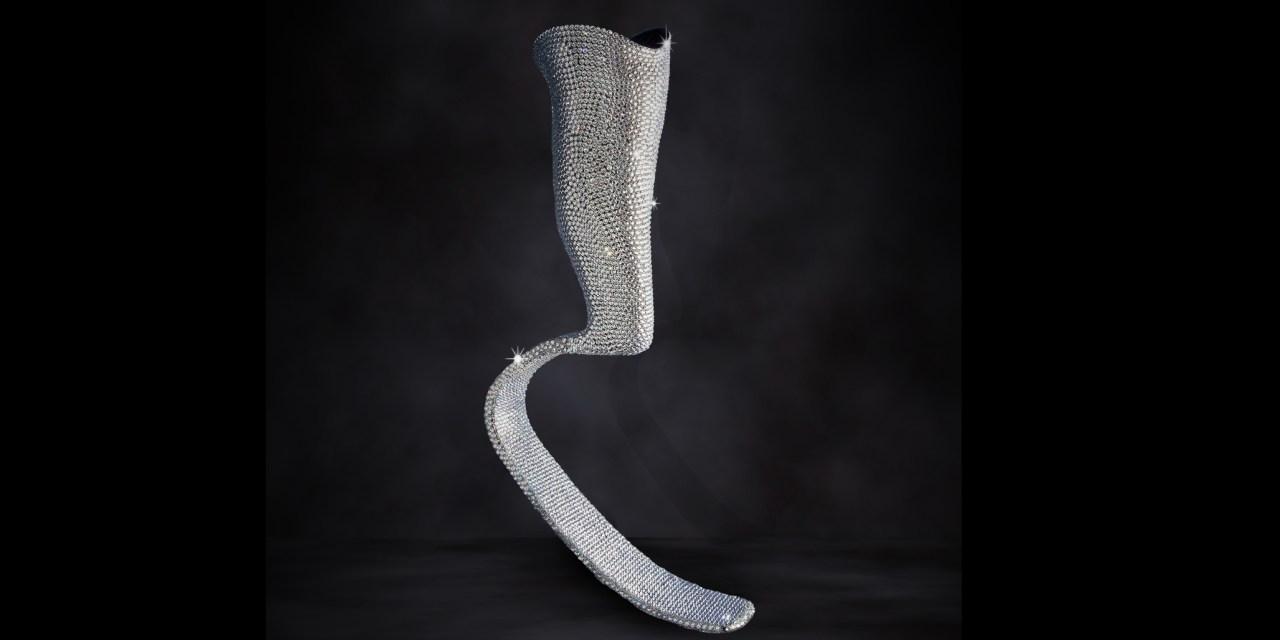Swarovski Crystal Prosthetic Created