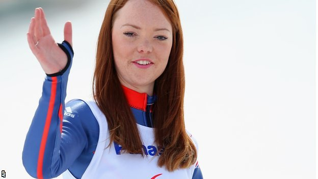 Jade Etherington: Paralympic skiing medallist retires at 23