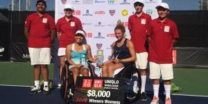 Jordanne Whiley Doubles Masters trophy