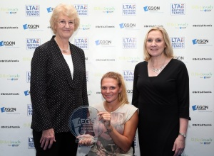 Jordanne Whiley Player of the Year 2014