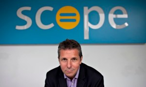 Richard Hawkes, Scope chief executive