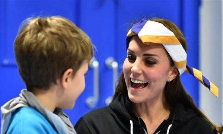 Duchess Kate earns Disability Awareness Scout badge