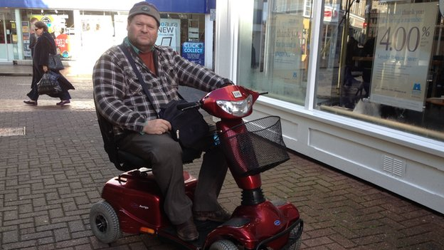 Taunton Shopmobility may be saved by disability charity