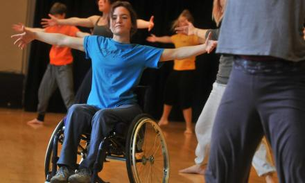 Students take part in special training course on inclusive dance and disability