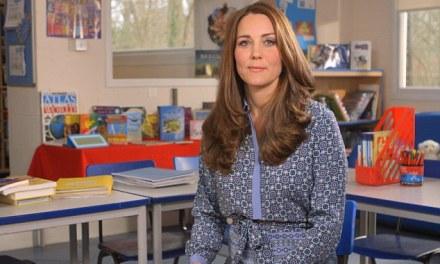 Duchess of Cambridge records video for Children's Mental Health Week