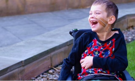 Mum's idea for special disabled clothing for her son takes off