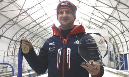 Matt Richardson wins silver in Para-skeleton World Cup