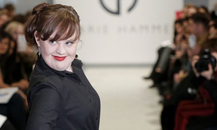 Model with Down's syndrome makes history on New York catwalk